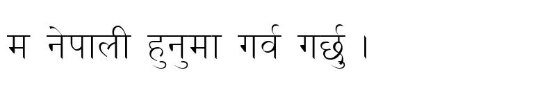 Preview of Bhaktapur Regular