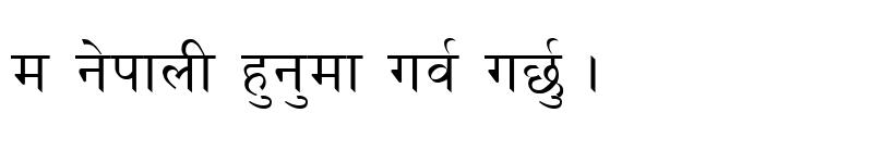 Preview of Kantipur Regular