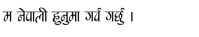 Preview of Manishau Regular