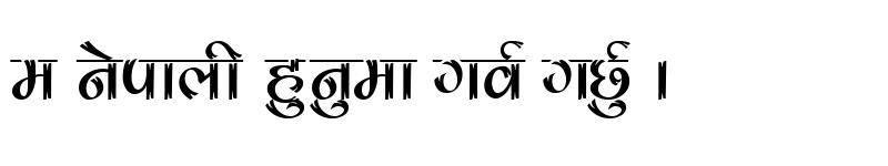 Preview of raju bold Regular